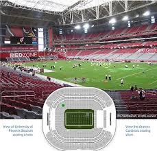 Arizona Cardinals Vs Los Angeles Rams Front Row Aisle Seats