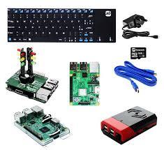 educational raspberry pi 3 b traffic light kit for starters