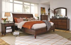 Queen Bedroom Furniture Aspenhome Cambridge Queen Size Bed With Sleigh Headboard Drawer