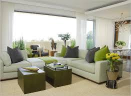image of mid century modern living room curtains