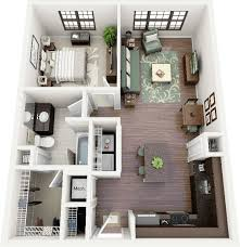 ... One Bedroom Apartment Or House Plans One Bedroom Apartment Los Angeles 1  Bedroom Apartments ...