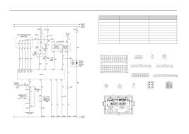daewoo korando horn schematic and routing diagrams wiring diagram