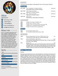 Resume Template With Photo CV in Tabular Form 100 Tabular Resume Format Templates WiseStep 17