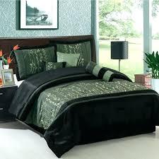 dark green comforter set king red and black quilt sets lovely design ideas modern style bedroom