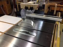 table saw overhead dust collection zoom pictures
