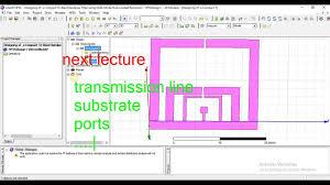 Hfss Filter Design Designing Of Tri Band Bandpass Filter Using In Hfss