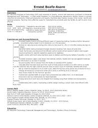 Industrial Engineer Resume Example Cover Letter For Engineering