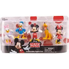 Mickey Mouse Kitchen Appliances Disney Mickey Mouse Collectible Figure Set Walmartcom