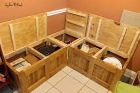 Diy Breakfast Nook Bench Breakfast Nook With Storage Benches 55 Home Design With Breakfast