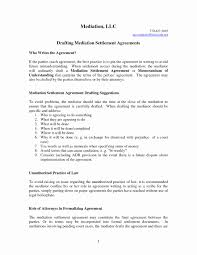 Mediation Agreement Template Mediation Settlement Agreement Template The Best Agreement Of 24 4