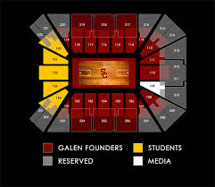28 Rare Galen Center Seating Chart