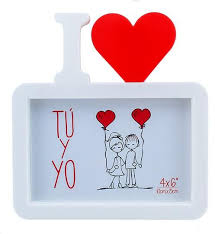 i love u molded picture frame bd he 19