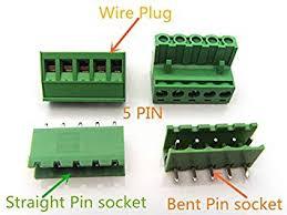 Onvas <b>3PCS</b> YT2101 <b>2EDG</b> Pitch <b>5.08 mm</b> Plug Terminal PCB ...