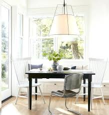modern drum pendant lighting a for dining room light white fabric shade crystal i