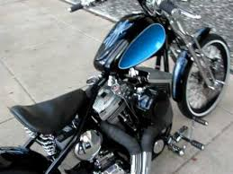 2009 old school bobber disc tank drag pipes for sale youtube
