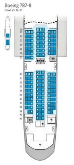 44 Cogent British Airways Boeing 747 Seating Plan