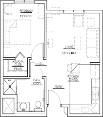 One Bedroom Apartment. One Bedroom Apartment 550 Square Feet