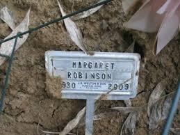 Margaret Lorene Sheffield Robinson (1930-2009) - Find A Grave Memorial