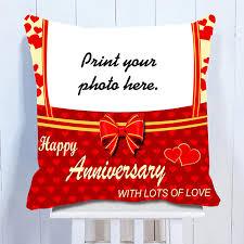 personalized anniversary cushion guntur