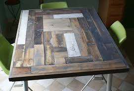 reclaimed wood furniture ideas. reclaimed wood table top resurface diy painted furniture repurposing upcycling woodworking ideas a