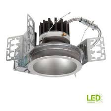 integrated led recessed ceiling light fixture power module kit at 3500k bright