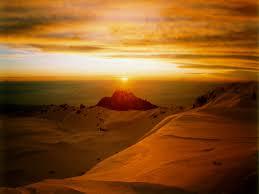 Risultati immagini per mount kilimanjaro sunset