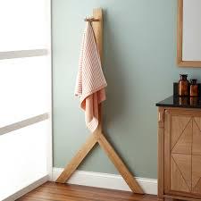 Gallery of Astounding Standing Towel Rack For Bathroom