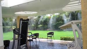 Patio Outdoor Misting System Easy To InstallBackyard Misting Systems
