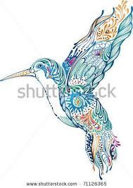 tribal hummingbird tattoo drawing. Plain Hummingbird Zentangle Hummingbird  Drawing Heart Tribal Hummingbird And  Hibiscus Tattoo  On Drawing