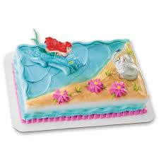 Ariel Cake Decorations Amazoncom Ariel And Scuttle Decoset Cake Topper Toys Games
