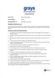 Cook Job Description Resume Cook Jobtion Duties Banquet Resume Prep Head Mcdonalds Jd 21