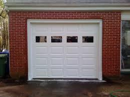 image of faux garage door window kits