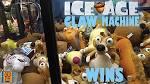 Claw Machine Ice Age