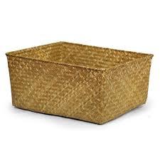 alexa large utility basket natural 15in