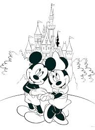 Free Coloring Pages Mickey Mouse Online Color Characters Disney