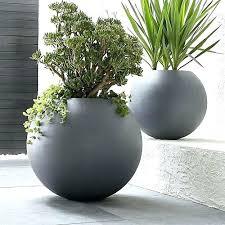 large resin planters large resin planters large ball planter earth friendly globe planter does a