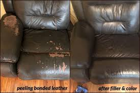 warning any repair compound or rubberized coating that overlaps the existing unstable faux leather surface is likely to suffer the same fate