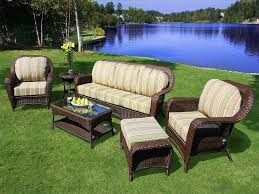 image of outdoor patio furniture sets wicker fqehoew