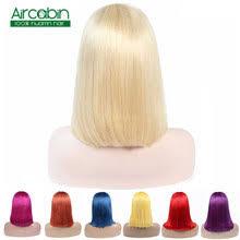 purple <b>short</b> wig