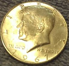 1967 Kennedy Half Dollar Value Chart 1967 50c Kennedy Half Dollar Rare Silver Coins Collecting 50