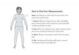 Women S Measurement Chart Body Womens Arcteryx Size Chart Basin Sports