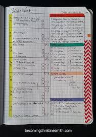 Composition Notebook Grid Planner Diy 1 Planner Tips