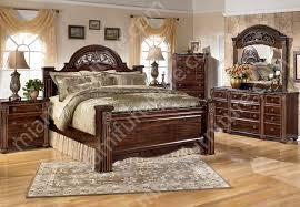 innovative furniture bedroom set b347 gabriela 4 piece bedroom set ashley furniture miami furniture