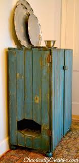 10 ways to hide your cat s litter box ikea cabinet salvage repurpose budget8