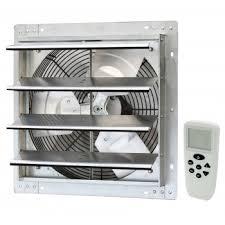 shutter exhaust fan