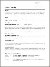 Uk Resume Format - Koto.npand.co