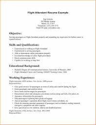 15 Flight Attendant Cv No Experience Basic Job Appication Letter