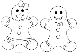 Free Printable Gingerbread Man Characters Pictures Of The Story