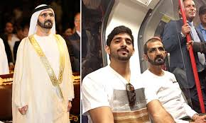 Dubai\u0027s Sheikh Mohammed and his son take a trip on the London ...
