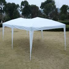 pop up folding wedding party tent cross bar white